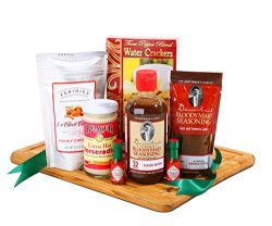 Bloody Mary Gift Set Featuring Demitris Classic Seasoning, Chipotle and Horseradish