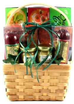 Gift Basket Village Cheese, Sausage and More Meat Gift Basket