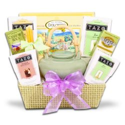 Soothing Zen Tea Gift Set w/ Tazo Tea and Walker's Cookies