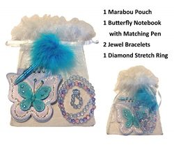 Girl's Marabou Mini Gift Stuffers – Stocking Stuffers, Easter Basket Stuffers, Valen ...