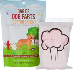 Bag of Farts Cotton Candy Funny for All Ages Unique Birthday Gag Gift for Friends, Mom, Dad, Bir ...