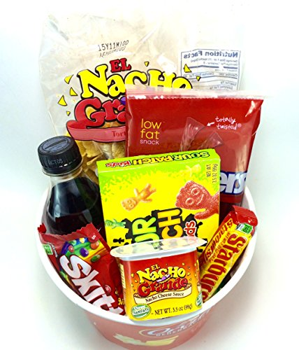 Movie Night Bouquet With Drinks: Orville Redenbacher's Movie Night Popcorn And Candy Gift