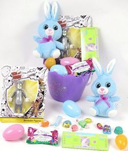 Kid's Easter chocolate basket, Tom and Jerry Easter Basket, Includes Tom and Jerry Bendabl ...