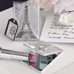 Eiffel Tower Design Mirror Compact