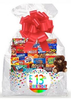 CakeSupplyShop Item#013BSG Happy 13th Birthday Rainbow Thinking Of You Cookies, Candy & More ...