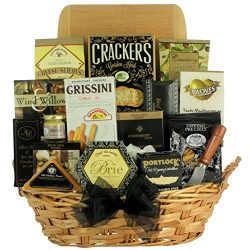 GreatArrivals Gift Baskets Classic Selections: Cheese & Snack Gift Basket, 4 Pound