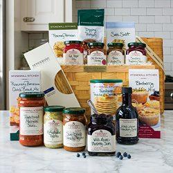 Stonewall Kitchen Delicious Sampler Basket (16 pc Gift Basket)