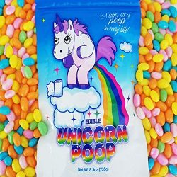 Unicorn Poop Candy (Pastel Jelly Beans) – Funny Birthday Gift – Unique Candy Present ...