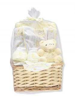 Big Oshi Unisex Baby 9-Piece Gift Set – Yellow, 0-6 Months