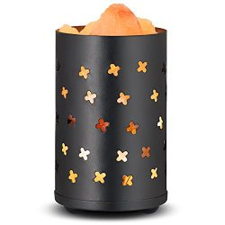 mockins Himalayan Salt Lamp Cylinder Basket With Salt Chunks – Best Mother's Day Gif ...