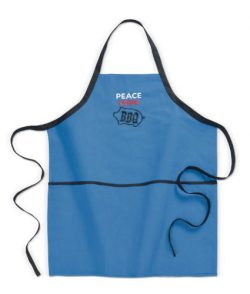 "Grasslands Road ""Peace Love BBQ"" Apron, 32 by 27-Inch"