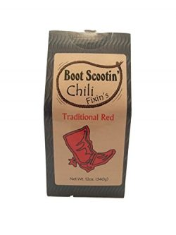 Leonard Mountain Boot Scootin' Chili (Traditional Red Chili), 12-Ounce Box (Pack of 3)