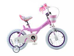 Royalbaby Bunny Girl's Bike, 18 inch wheels, Pink