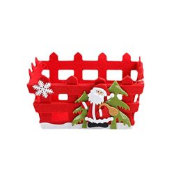 Christmas Basket! Paymenow Clearance 2018 Merry Christmas Decor Toy Doll Gift Home Tree Children ...
