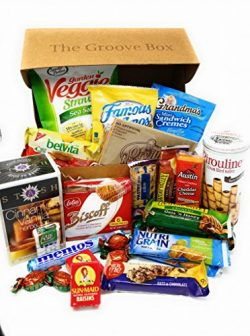 Groovy Gourmet Mothers Day Snack Box – Womens Care Package – Gourmet Gift Basket  ...