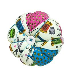 D&D Pin Cushion Wrist Pumpkin Pin Cushions Wearable Sewing Needle Pincushions for Needlework ...
