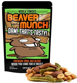 Beaver Munch Spicy Trail Mix – Healthy Gift Funny Trail Mix Gift Bag Resealable Funny Healthy Gi ...
