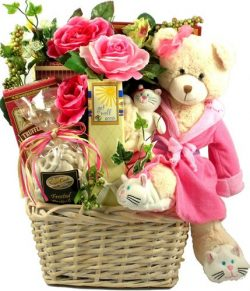 Gift Basket Village Beary Special Get Well Wishes with Recuperate Kate