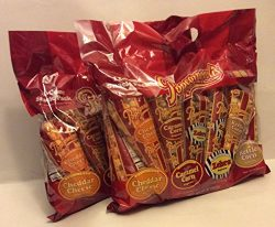 Popcornopolis 12 Cone Snack 20oz Each Bag Pack Popcorn Assorted Flavors ( 2 Pack 24cones Total )