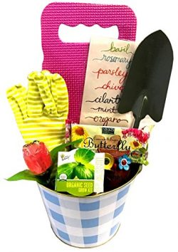 Thinking of You Gift Basket – Let Her Know You Care with this Gardening Gift Basket that I ...