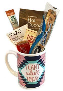 Starbucks Coffee Mug Gift Sets WITH Via Coffee Hot Cocoa Tea and MORE – Get Well Soon R ...