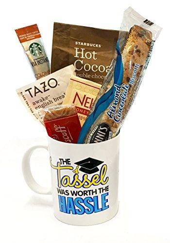 Starbucks Coffee Mug Gift Sets WITH Via Coffee Hot Cocoa Tea and MORE – Graduation Gift &# ...