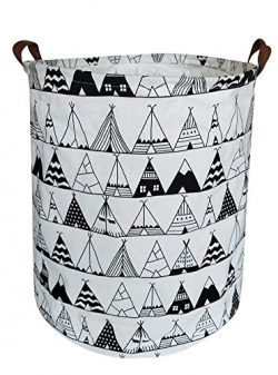 CLOCOR Large Storage Bin-Cotton storage Basket-Round Gift Basket with Handles for Toys,Laundry,B ...