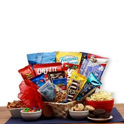 Snacks for All Gift Basket