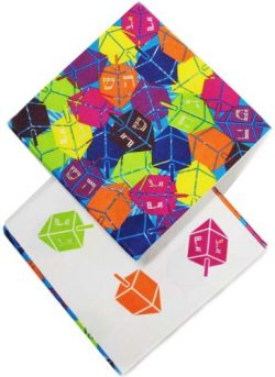 Chanukah Beverage Paper Napkins , Disposable Napkins , Decorated with Hanukkah Dreidels –  ...