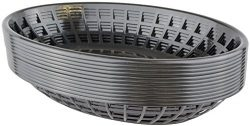 Bear Paw Products – Plastic Food Baskets – Oval Baskets – 12 Pack – Perf ...