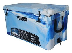 MILEE Heavy Duty 75 QT ICE CHEST Marine CAMO with($50.0 Accessories sent free) free Divider,cup  ...