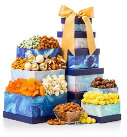 GiftTree The Sweet Life Gourmet Gift Tower, Top Father's Day Gift
