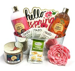 Womens Spa Gift – Womens Gift Baskets – Womens Spa and Tea Gift Baskets Perfect for  ...