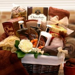Exotic and Relaxing Spa Gift Basket – Great Gift for Any Occasion