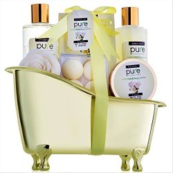 Jasmine & Rose Deluxe Mothers Day Spa Gift Basket for Women. Voted #1 Best Gift for Wife! Ba ...