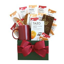 Tazo Tea Gourmet Tea Gift Set | Great Tea Gift for Any Tea Drinker! | Organic Stores Gift Basket ...