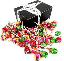 Jolly Rancher Assorted Lollipops, 0.6 oz Lollipops in a BlackTie Box (Pack of 50)