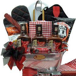 Delight Expressions Fire it Up BBQ Gift Basket – A Great Gift Basket Idea!