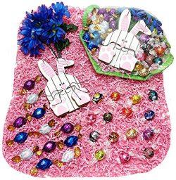 Deluxe Sampler Mothers Day or Easter Gift Basket – Lindt Lindor & Godiva Gourmet Choco ...