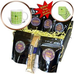 3dRose Beverly Turner St Patrick Day Design – Lucky Horseshoe with Green Top Hat, Horsesho ...