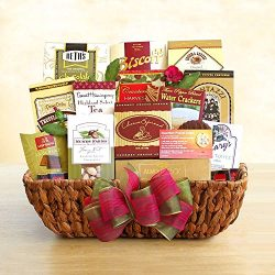 A Light in the Darkness Gourmet Sympathy Gift Basket by Organic Stores