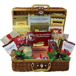 Art of Appreciation Gift Baskets Bounty of Flavor Gourmet Food Picnic Hamper (Candy)