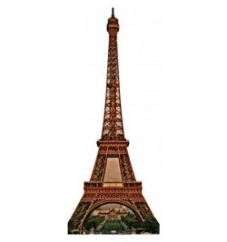 Eiffel Tower – Advanced Graphics Life Size Cardboard Standup