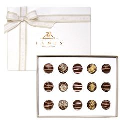 Fames Assorted Chocolate Gift Box – Handcrafted Deluxe Chocolates – Kosher Pareve((FAMES A ...