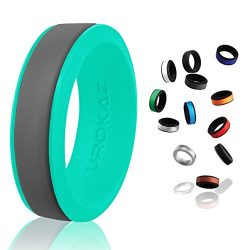 UROKAZ – Silicone Wedding Ring, The Only Ring that Fits Your Lifestyle – Whether You ...