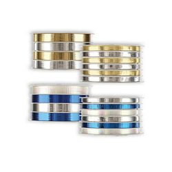 Jillson Roberts 4 Spool-Count Hanukkah Multi-Channel Curling Ribbon Available in 2 Different Ass ...