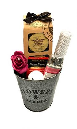 Peace and Relaxation Spa Bath Gift with Body Butters, Pedi & Mani Sets +More -Perfect for Wo ...
