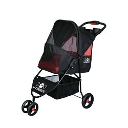LazyBonezz – The Lazy Jogger Dog Pet Stroller – Black