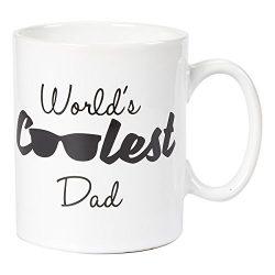 Ceramic Coffee Mug – 16-Ounce Large Novelty Stoneware White Tea Cup – World's  ...