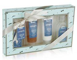 Spa Gift Basket Bath Set – Lush Body Lotion, Shower Gel, Bubble Bath, Body Scrub, Nice Mas ...
